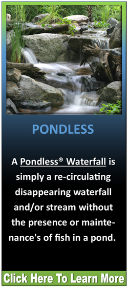 Disappearing Pondless Waterfall Contractor
